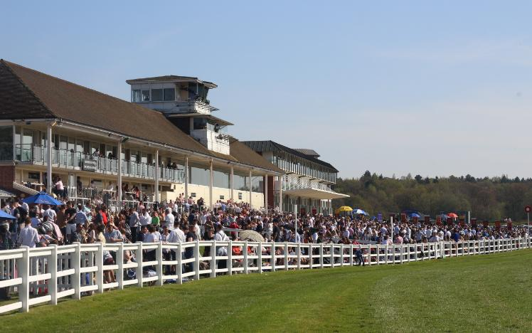 Huge Crowd at Lingfield Park
